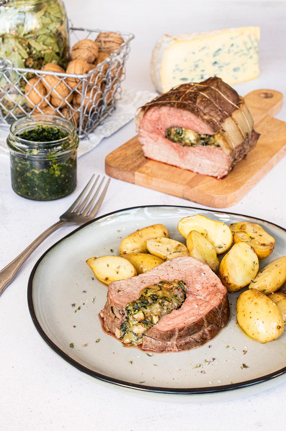 recette roti de veau bleu vercors sassenage